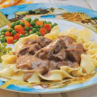 Beef in Onion Gravy