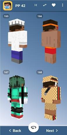 Steve Skins for Minecraft PE - MCPEのおすすめ画像5