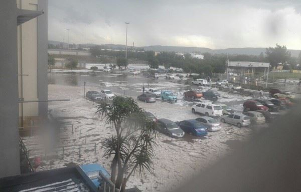 Storm Damage Caused To Mall In Lenasia