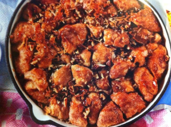 Skillet Monkey Bread Recipe