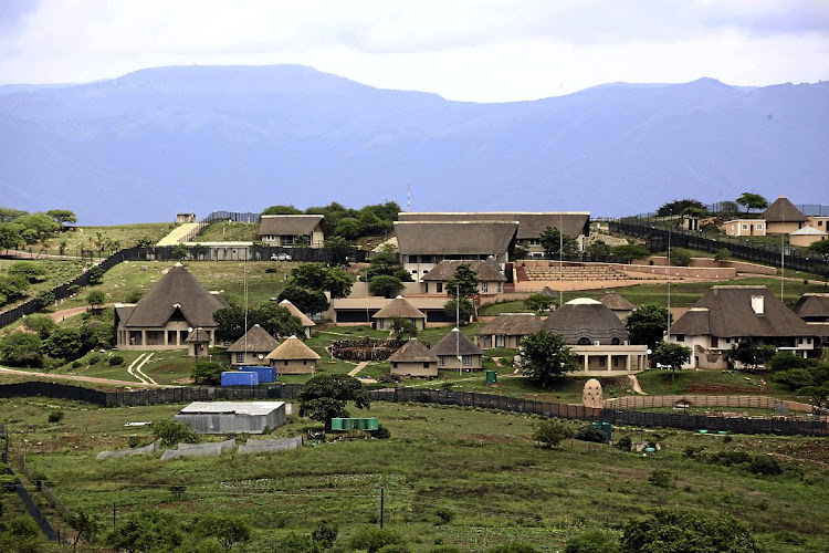 Could former president Jacob Zuma's homestead in Nkandla be the venue for a meeting between the ex-president and his once fierce political rival, Julius Malema? Their public tweets suggest a meeting in imminent, possibly this weekend. File photo.