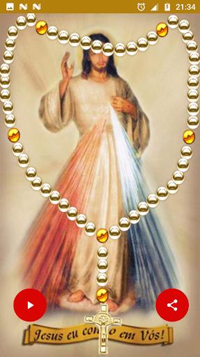 Holy Rosary Mercy in Italian with audio offline 1.0 screenshots 2