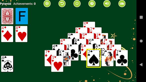 Pyramid Solitaire  screenshots 4