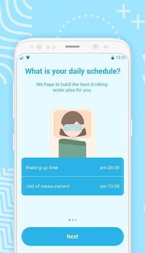 Drink Water Reminder 2019-Water Alarm 1.0.1.0807 screenshots 1