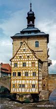 Photo: Bamberg. Oude raadhuis.