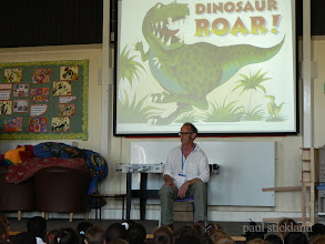 Photo: Paul Stickland - Dinosaur Roar - Fairchildes Primary, Croydon