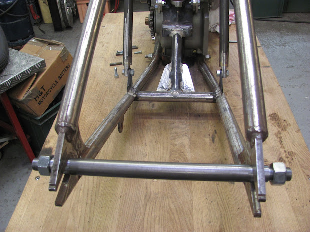 Rear axle for the big power produce by the blower .