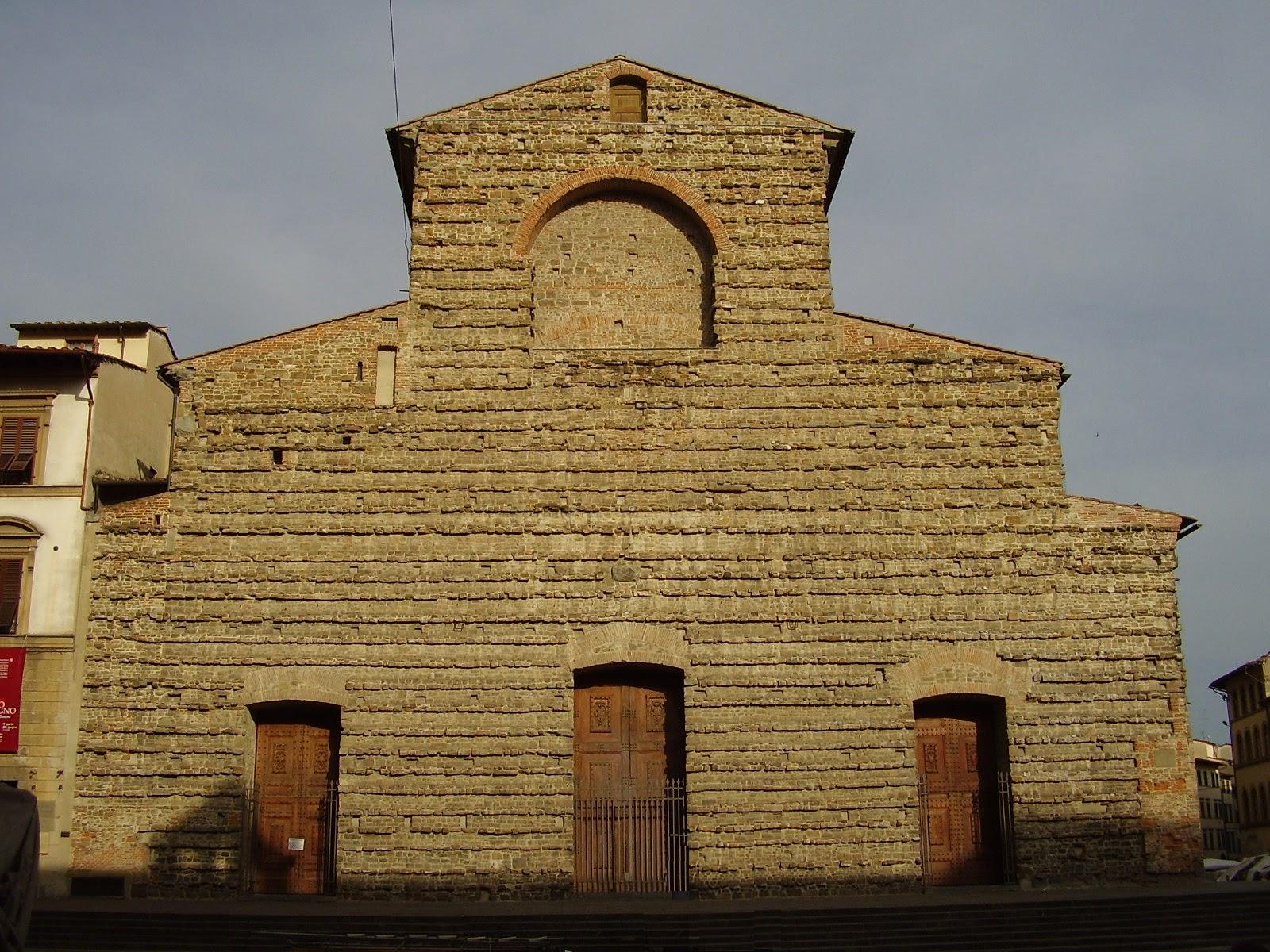 Basilica of San Lorenzo, la facciata, Firenze