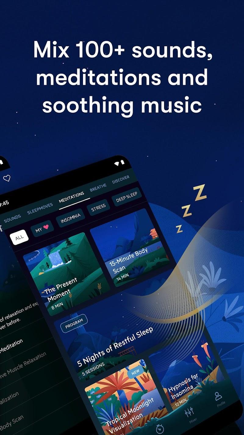 Relax Melodies: Sleep Sounds Screenshot 1
