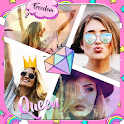 Girly Collage Maker Photo App icon