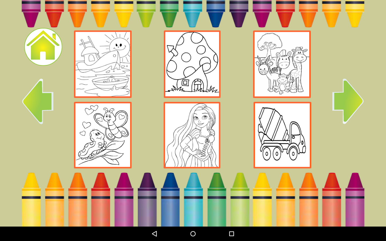 Coloring book kea - Coloring Book Color And Draw Screenshot