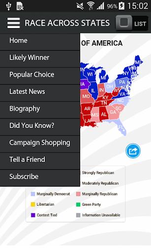 玩免費新聞APP|下載US Presidential Election 2016 app不用錢|硬是要APP