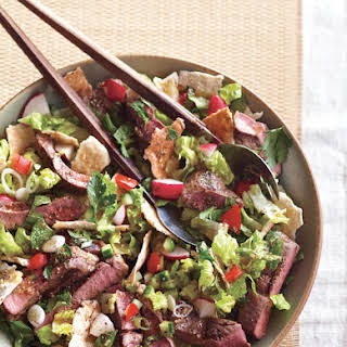 Lamb and Pita Salad.