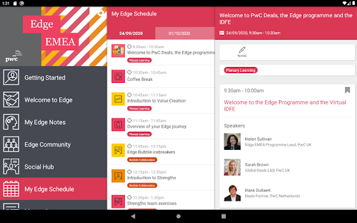 PwC Edge EMEA screenshot 6