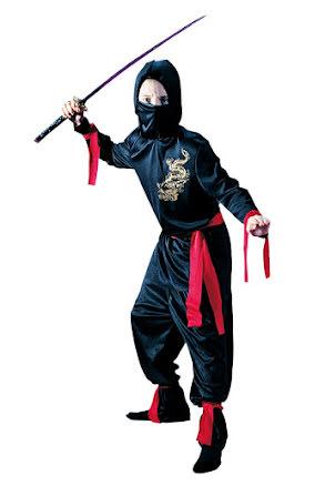 Ninjadräkt, barn
