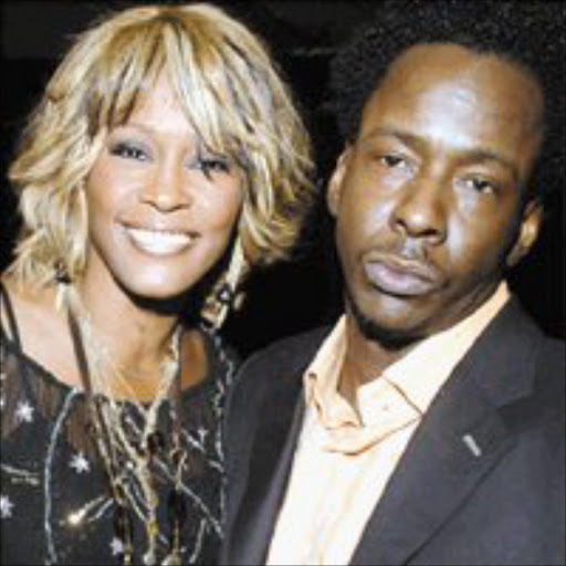 HAPPIER TIMES: Bobby Brown and Whitney Houston. © Unknown.
