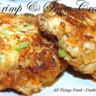 Shrimp and Snow Crab Cakes.