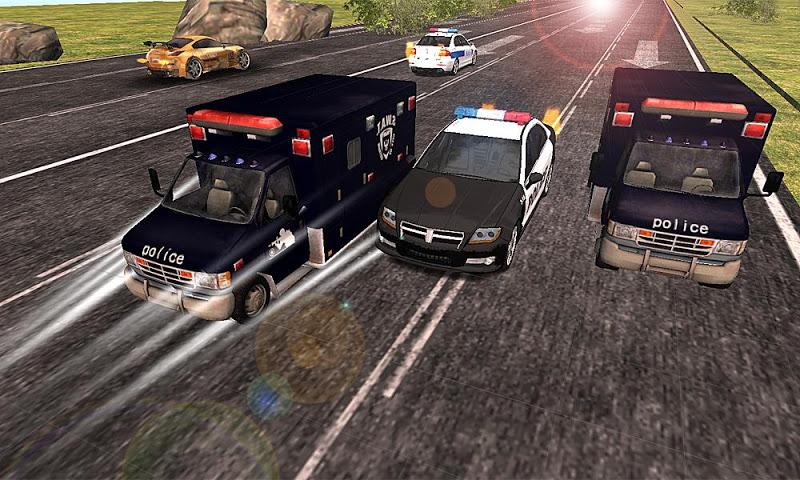 Скриншот SWAT полицейский автомобиль