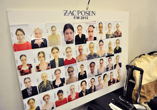 Photo: NEW YORK, NY - FEBRUARY 12:  A general view backstage at the Zac Posen Fall 2012 fashion show during Mercedes-Benz Fashion Week at the David Koch Theatre at Lincoln Center on February 12, 2012 in New York City.  (Photo by Henry S. Dziekan III/WireImage)