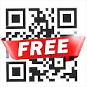 Extreme QR code reader & QR code scanner app free icon