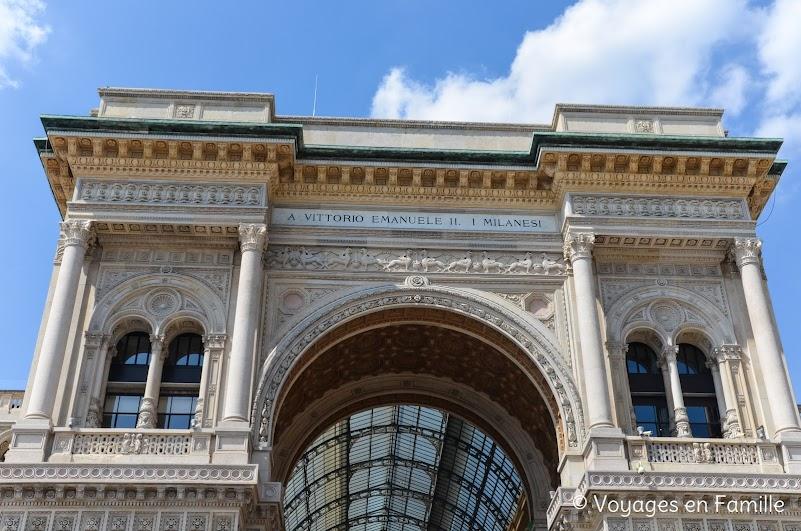 Milan galeria Vittorio Emanuel II