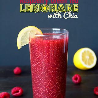 Raspberry Chia Lemonade