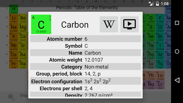 Download elementary periodic table apk latest version app for elementary periodic table poster elementary periodic table poster urtaz Image collections
