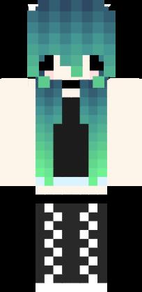 Cute Chibi Emo Girl Made By Emaily Gamer 33 Nova Skin