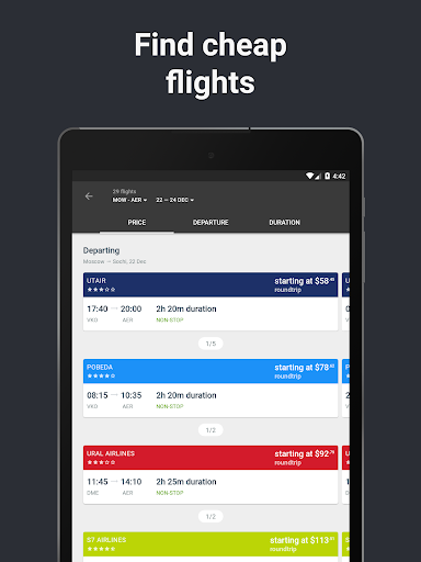 Hotels and Flights  screenshots 14