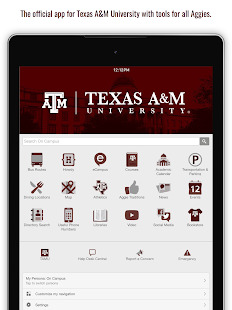 Texas A&M University- screenshot thumbnail