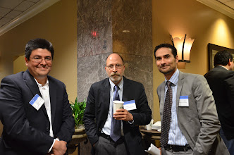 Photo: Irving Llamosas (Arizona), Jim LeSage (Texas SanMarcos), and Sandy Dall'erba (Arizona) during a break