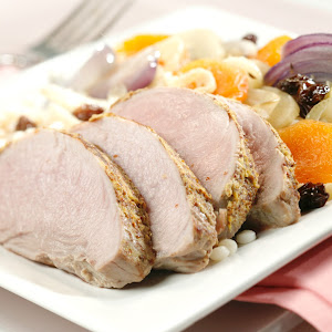 Brandied Apricot Pork Tenderloin