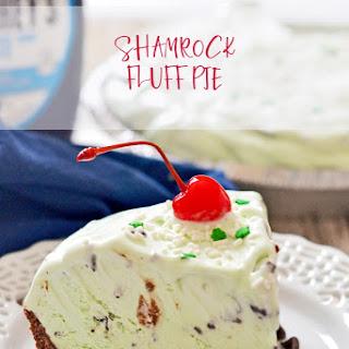 Shamrock Fluff Pie.