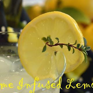 Thyme Infused Lemonade