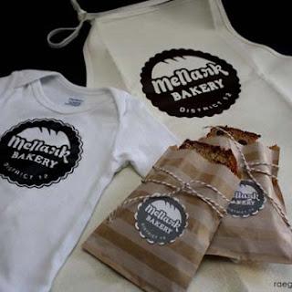 Mellark Bakery Printable and Mrs. Mellark's Chocolate Chip Banana Bread