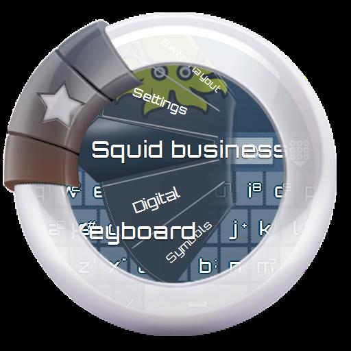 个人化のイカビジネス GO Keyboard LOGO-記事Game