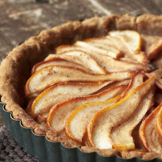 Pear Tart with Whole Wheat Crust.