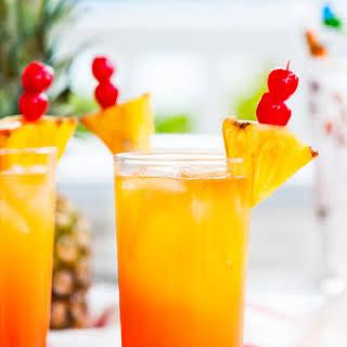 Tropical Mai Tai Cocktail.