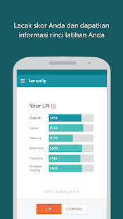 Lumosity - Latihan Otak Screenshot