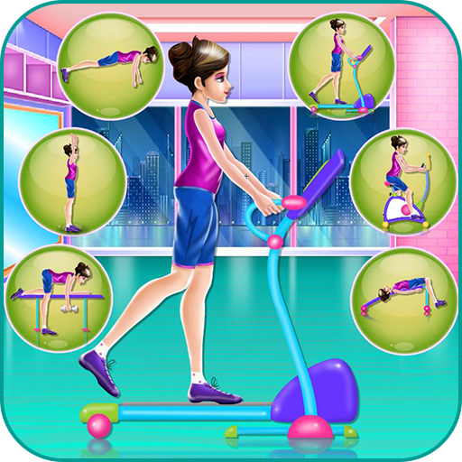 Fit girl training and makeover (game)