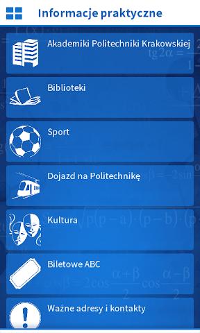 android Politechnika Krakowska Screenshot 3