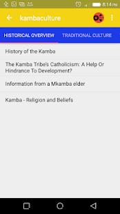 Kamba traditional customs - náhled