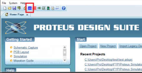 Proteus 设计套件指南