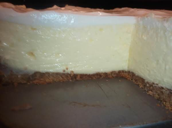 Lady Rose's Cheesecake With Sour Cream Topping Recipe