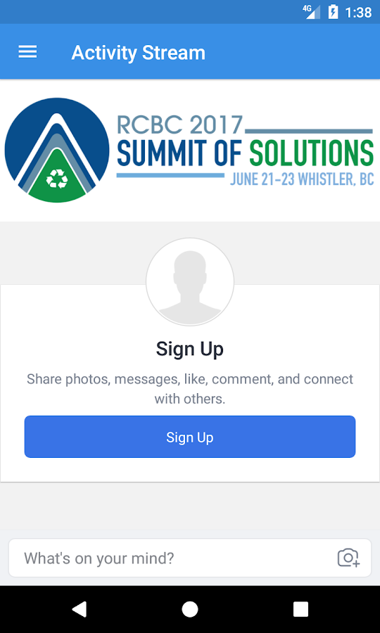 RCBC 2017: Summit of Solutions- screenshot