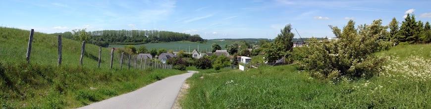 Photo: Panoramabild - Blick auf Seedorf Insel Rügen