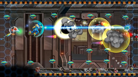 Space Army – Jetpack Arcade Mod Apk 1.0 (Unlimited Currency) 2