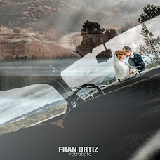 Wedding photographer Fran Ortiz (franortiz). Photo of 23.01.2017