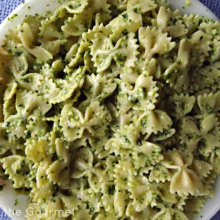 Pesto & Yogurt Pasta.