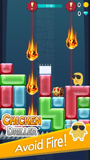 Chicken Driller:Can Your Drill android2mod screenshots 3